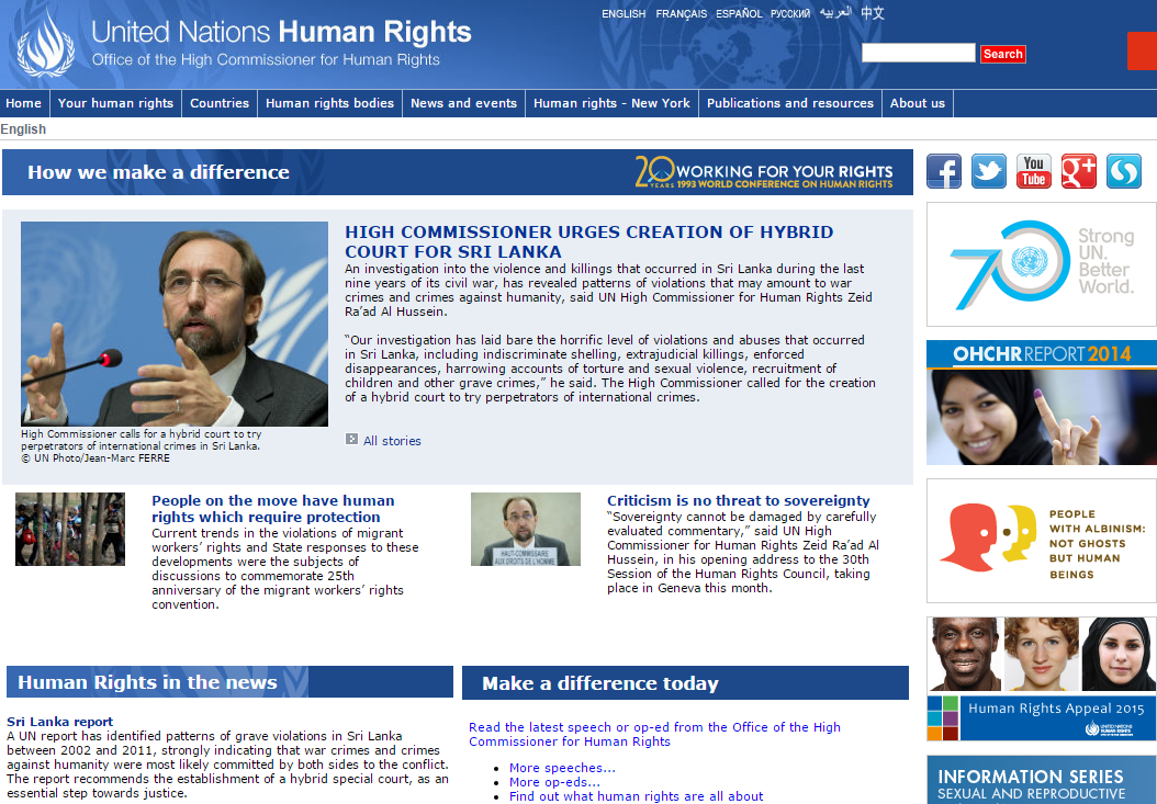 Office of the High Commissioner for Human Rights