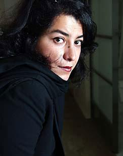 Portrait of Marjane Satrapi