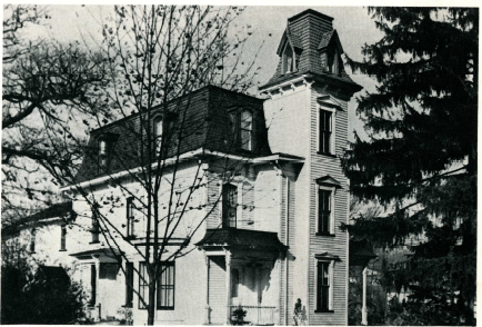 Psi Delta Omega - South Main St - 1951 - site of current playground