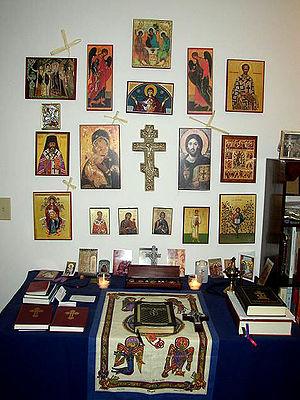 Home prayer corner