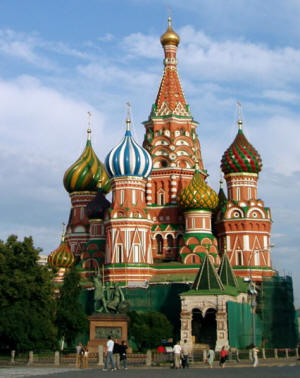 St. Basil's Cathedral - Moscow
