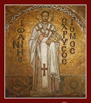 Golden Mouth - St. John Chrysostom