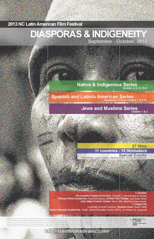 Diasporas and Indigeneity film festival poster