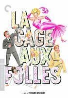 Movie Poster for La Cage Aux Folles (The Birdcage)