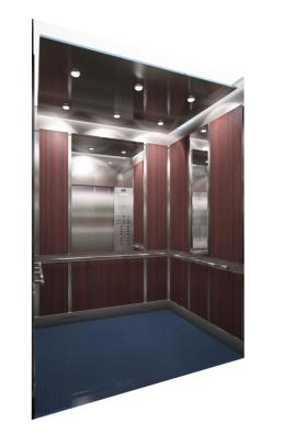 Picture of interior of new P3 elevator