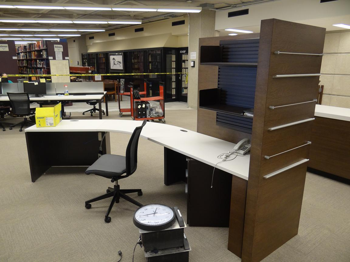 Image of Cheng Yu Tung's new reference desk